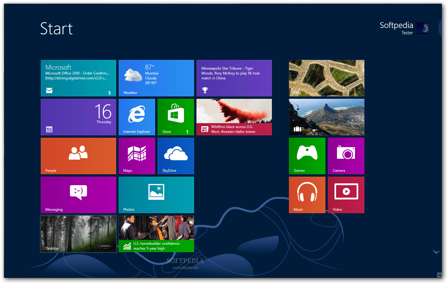 Screenshot Windows.
