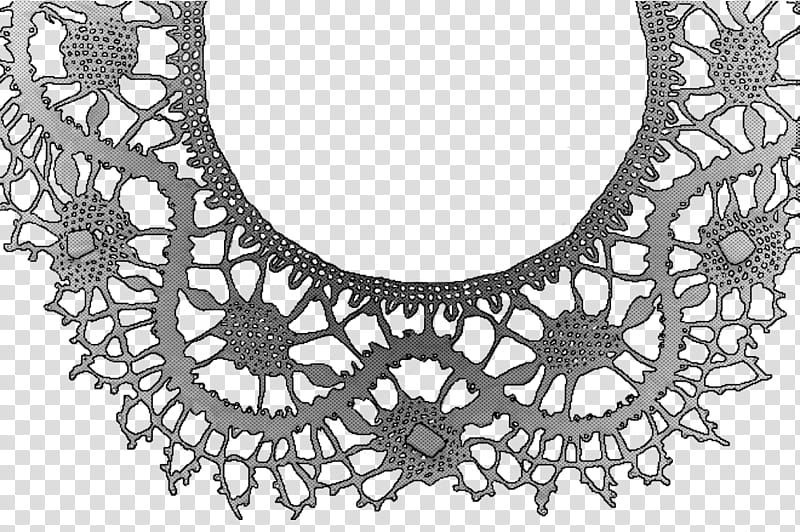 Lace Screentone , gray and beige floral frame illustration.