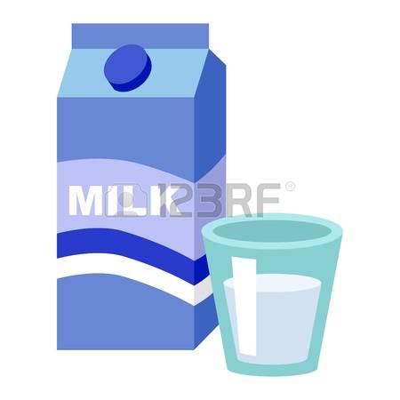 95 Milk Carton With Screw Cap Stock Vector Illustration And.