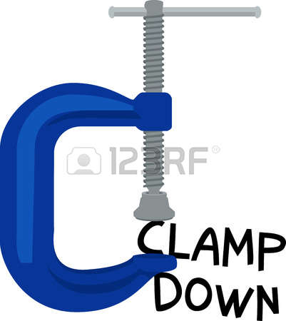 577 Screw Clamp Stock Vector Illustration And Royalty Free Screw.