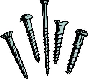 Screws Clip Art at Clker.com.
