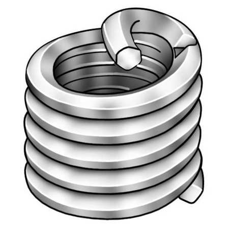 Screw Locking Nitronic 60 Helical Inserts by Helicoil.