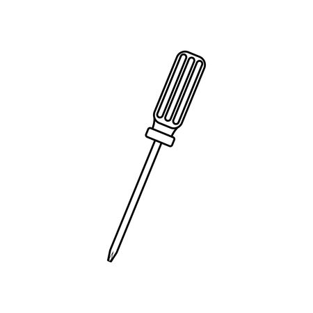 Screwdriver clipart black and white 1 » Clipart Station.
