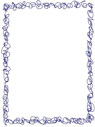 Scribble Frame Border Freebie (plus other freebies).