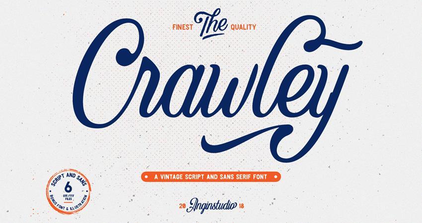 20 Free Elegant Script Fonts for Designers.