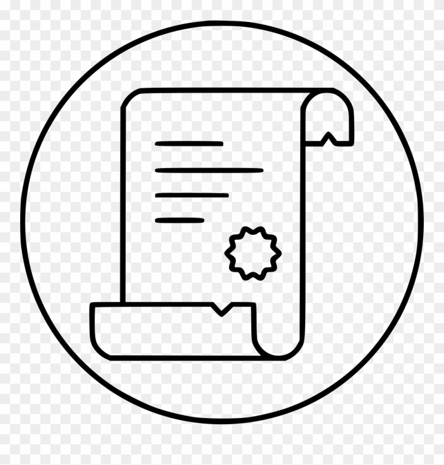 Scroll Script Proof Svg Png Icon Free Clipart (#2242802.