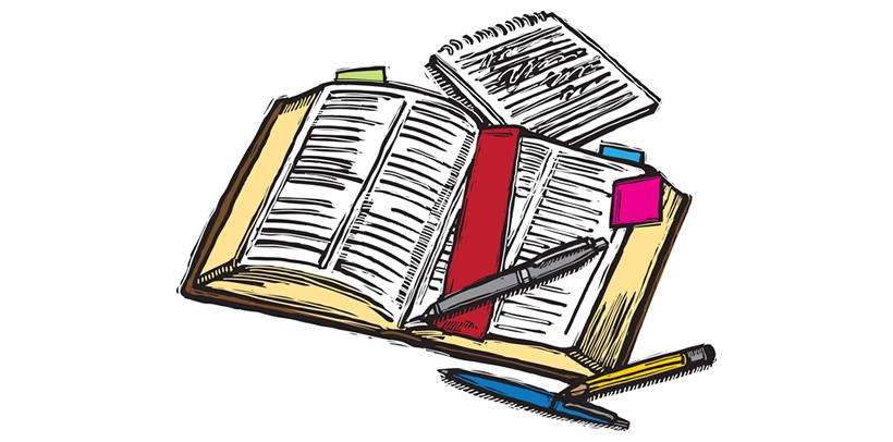 Teen Bible Study Clipart.