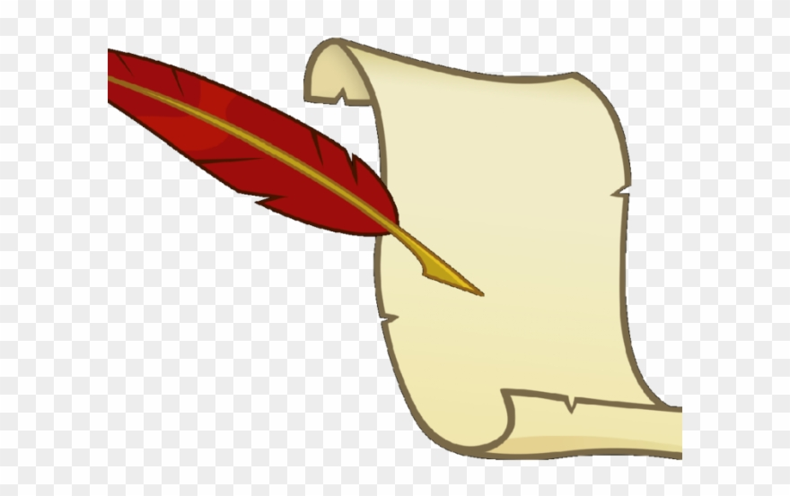 Quill Clipart Scroll.