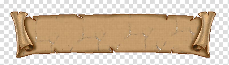Brown banner , Paper Bitmap Scroll , Scroll Background.