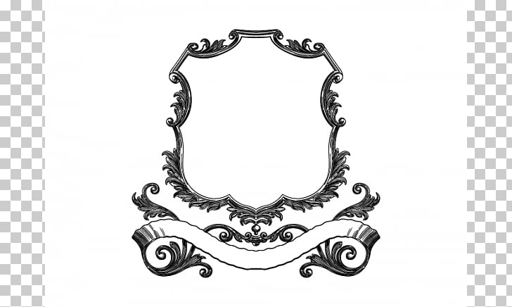 Frames Web banner Retro style , Scroll Banner PNG clipart.