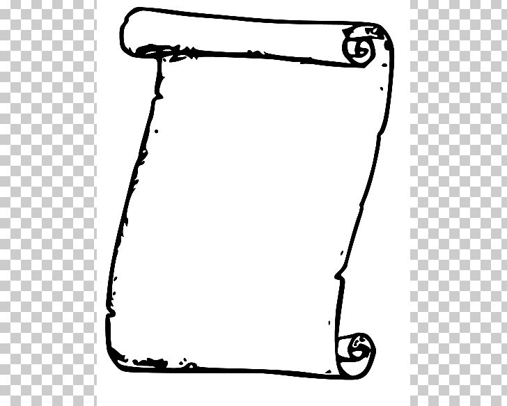 Scroll Black And White PNG, Clipart, Area, Auto Part, Black.