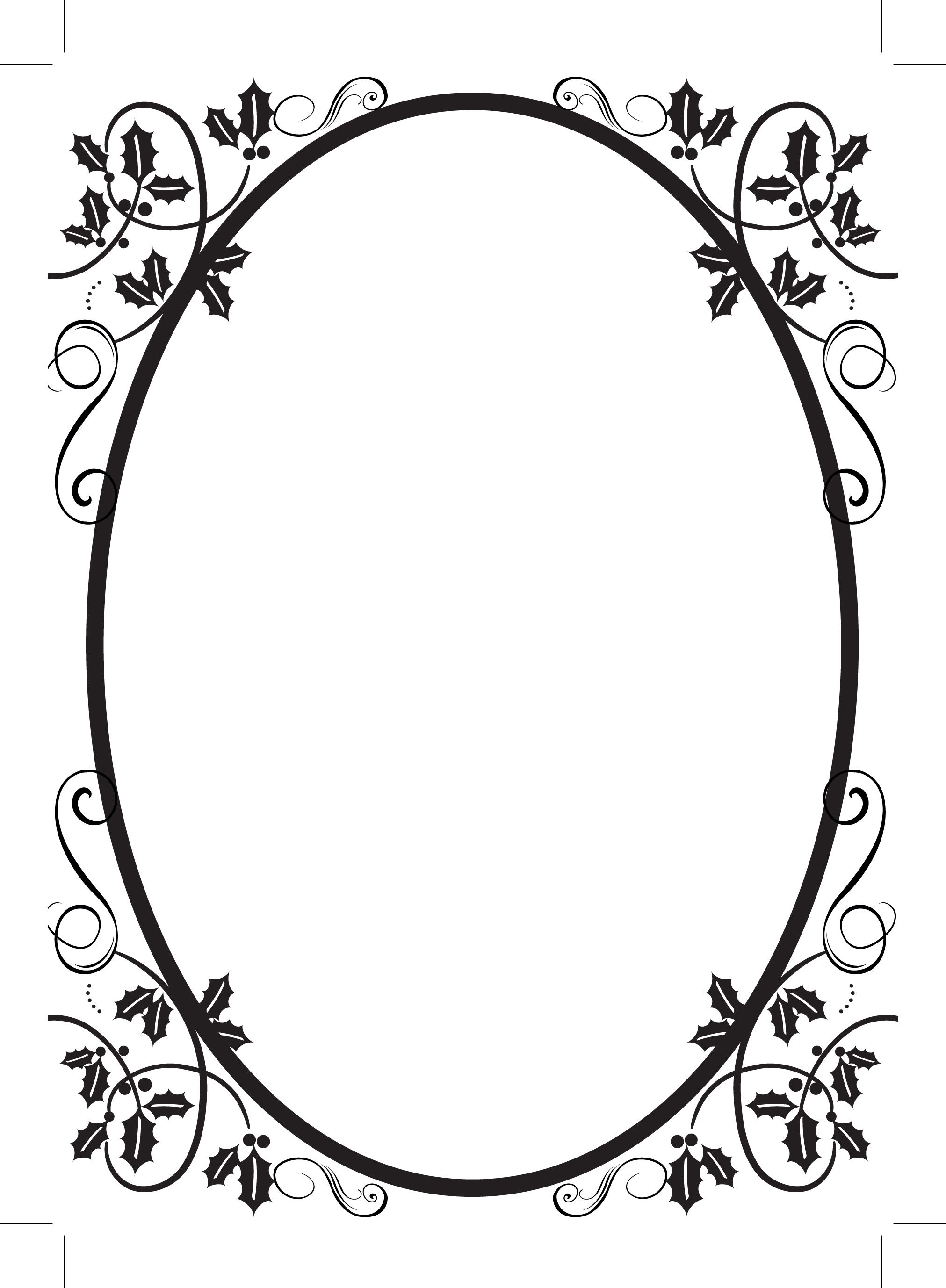 Scroll Clipart Border.