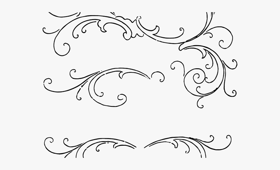 Scroll Border Clipart.