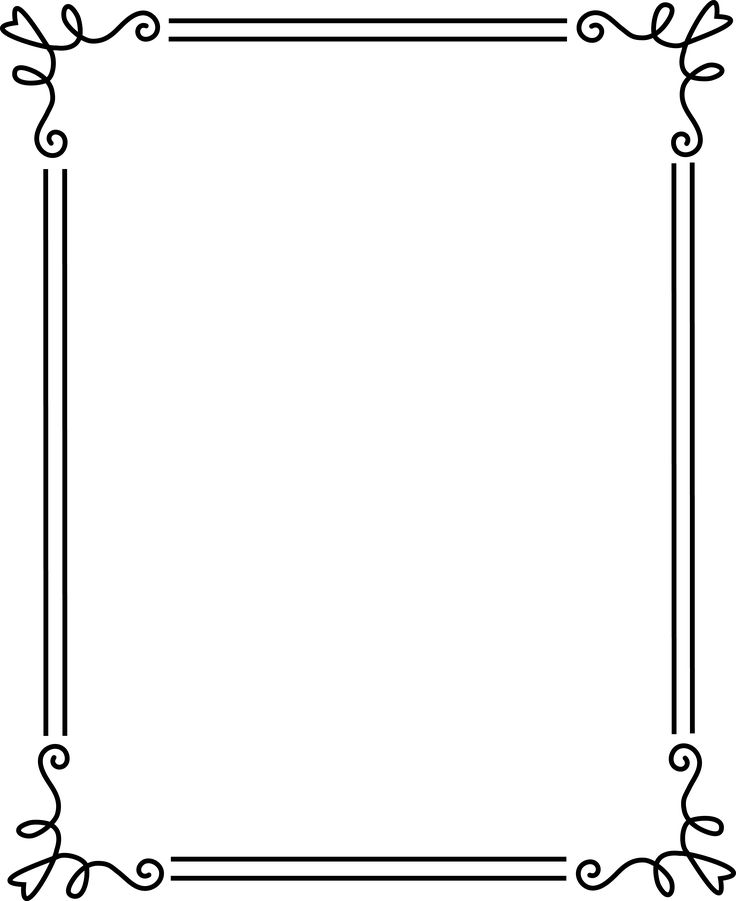 Scroll Border Png images collection for free download.