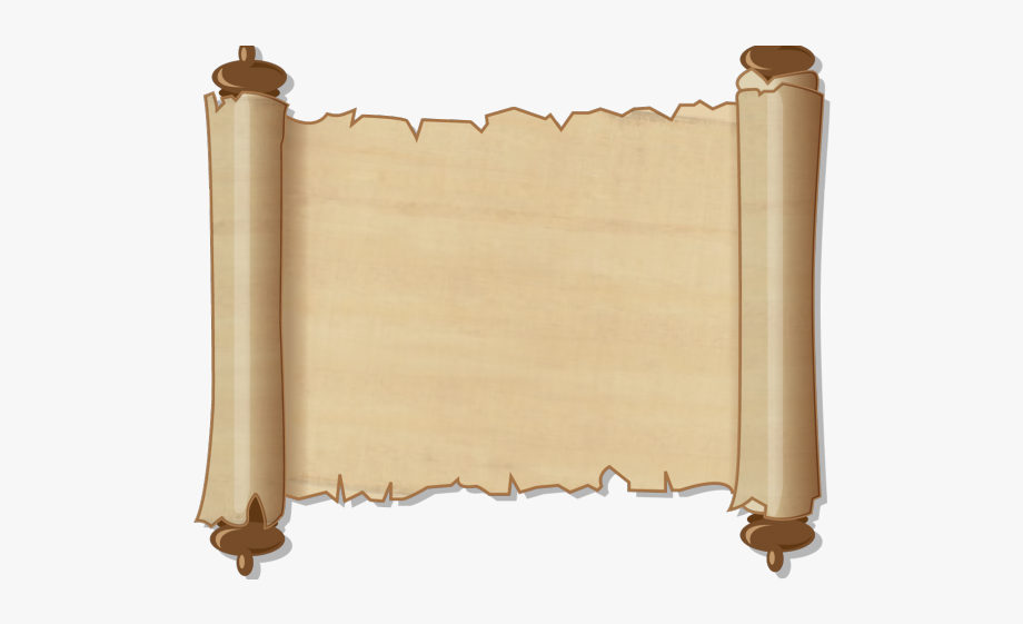 Scroll Clipart Map.