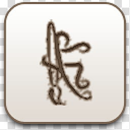 Albook extended sepia , brown scroll icon transparent.