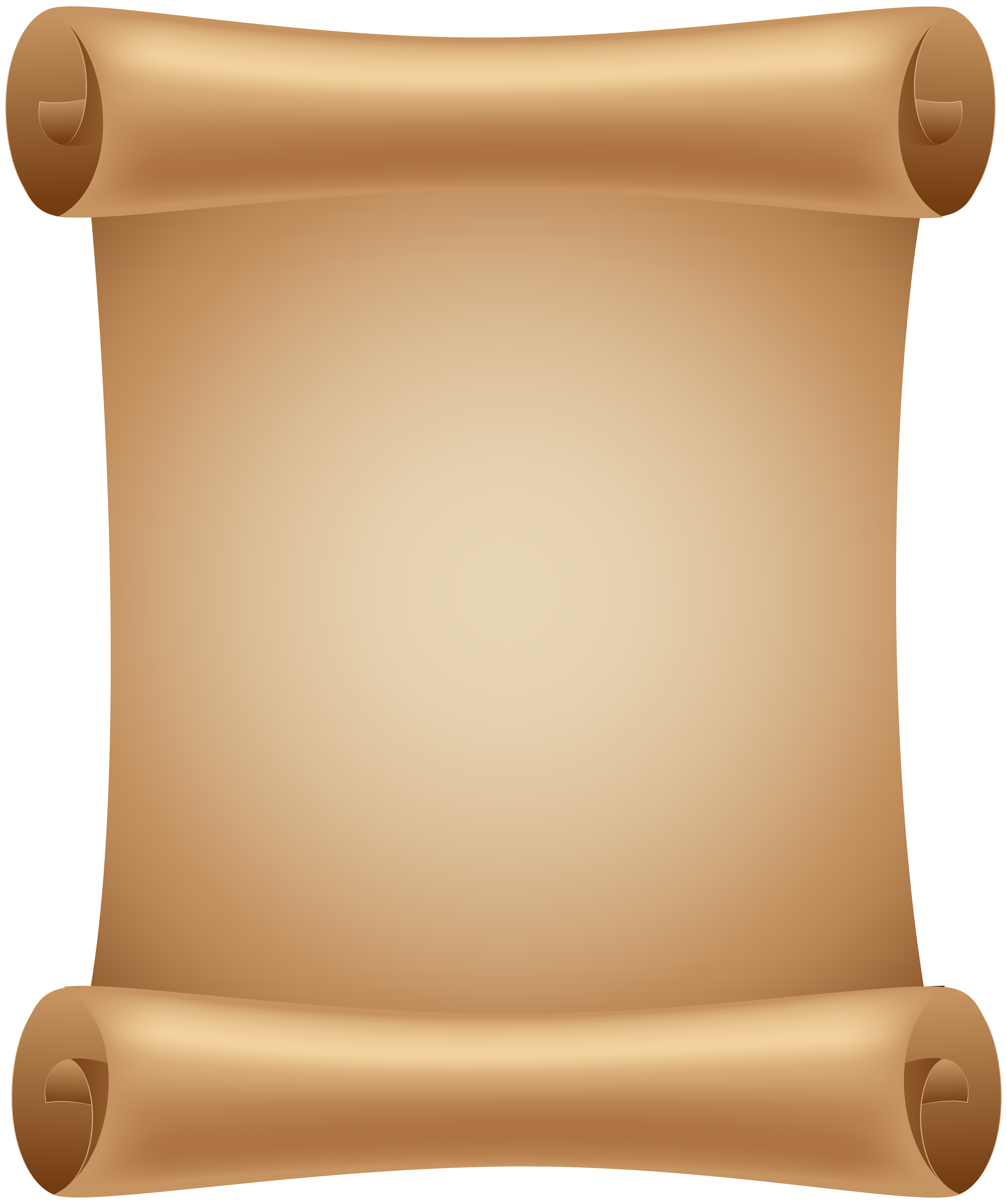 Scroll PNG Clip Art Image.