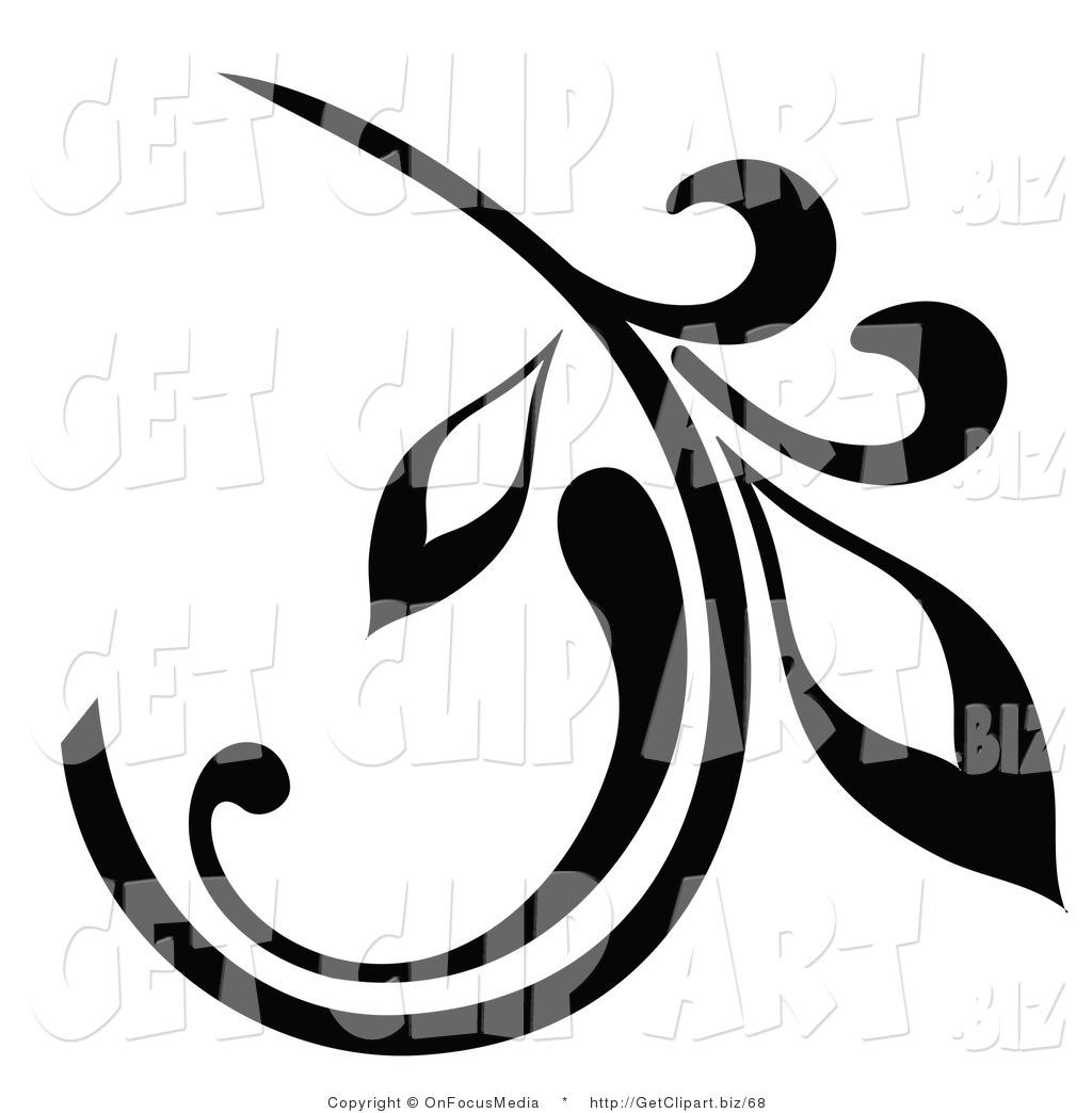 15 Leaf Design Clip Art Images.