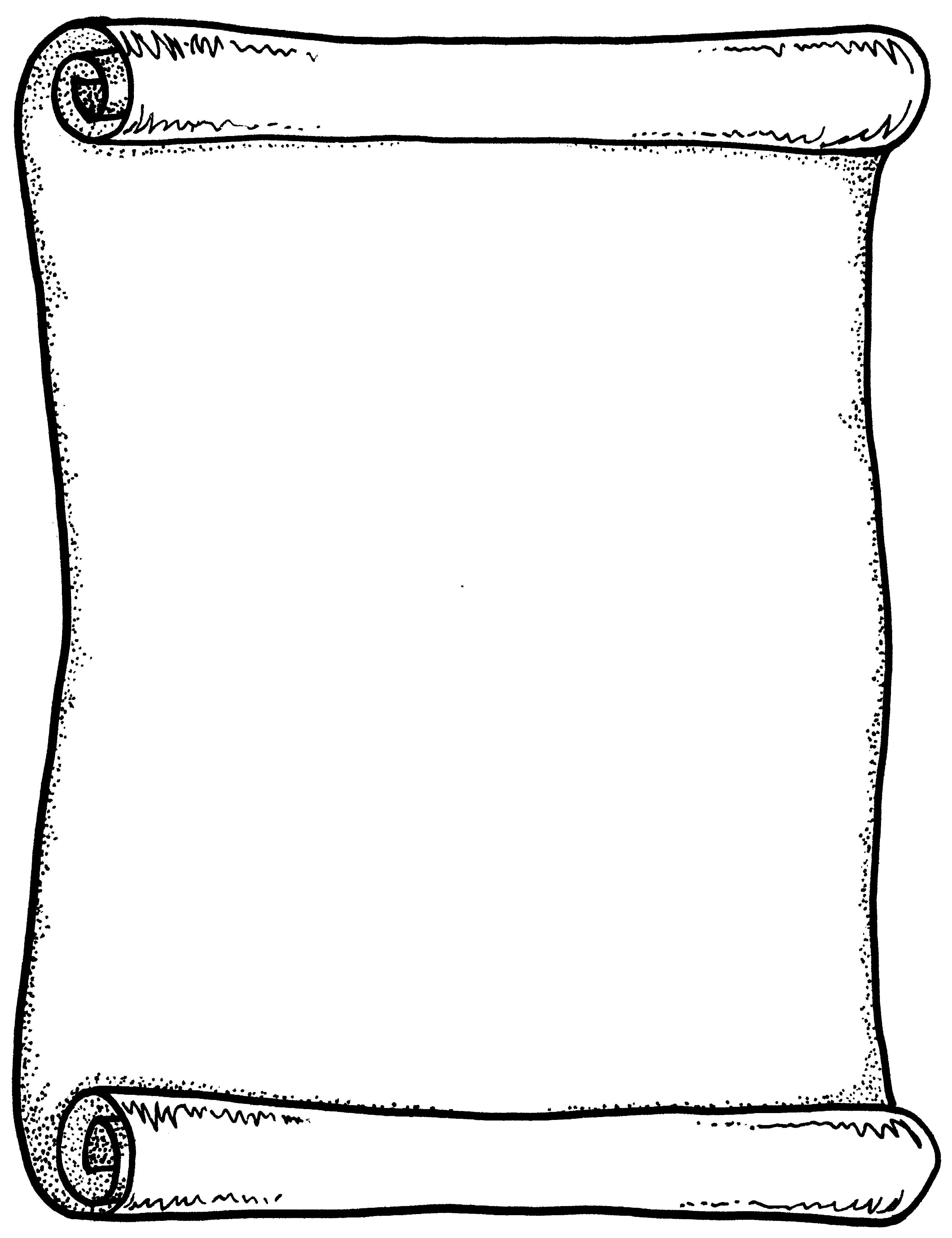 Scroll clipart template, Scroll template Transparent FREE.