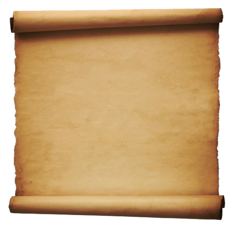 Scroll Paper Old transparent PNG.