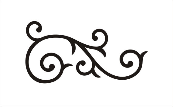 Scroll patterns clipart 4 » Clipart Station.