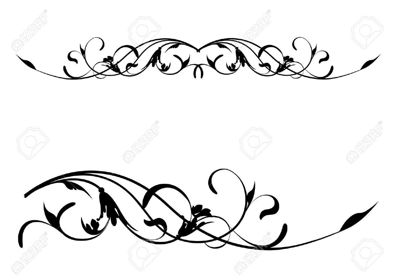 Scroll patterns clipart 6 » Clipart Station.