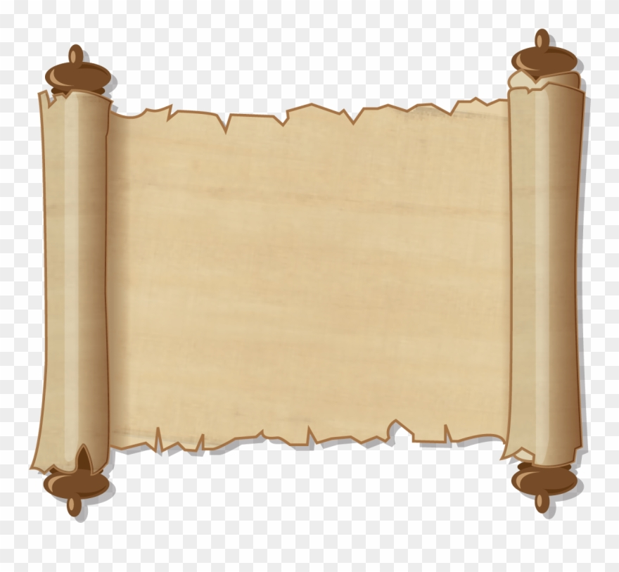 Scroll Clipart Transparent Background Collection.