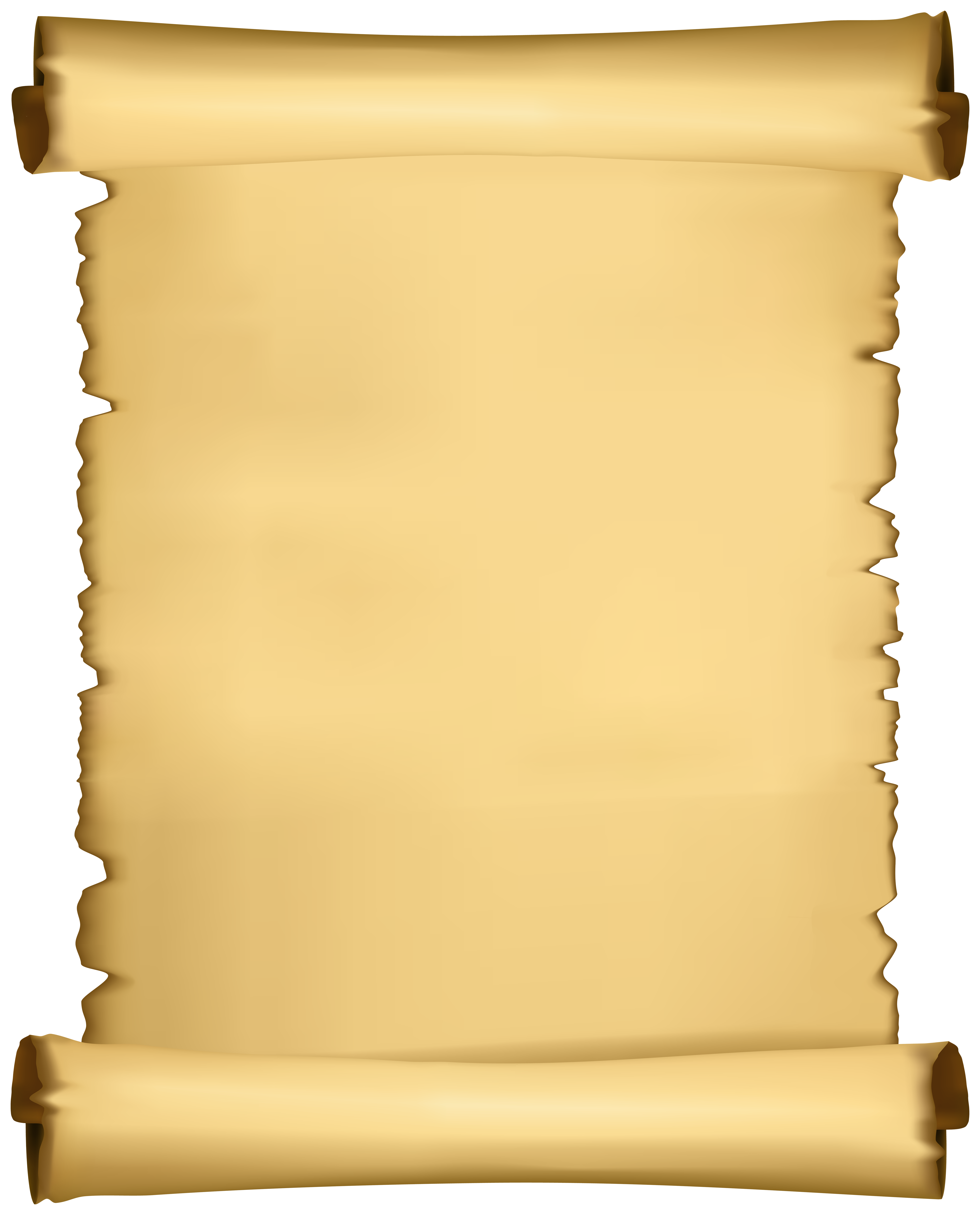 Scroll PNG Clipart.