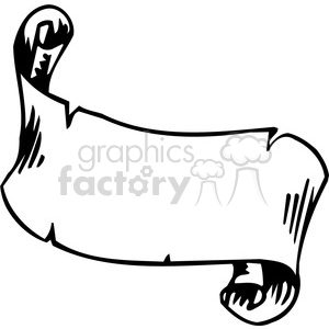 ribbons banners scroll clipart 017 . Royalty.