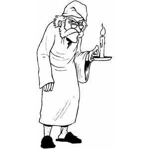 Ebenezer Scrooge Clip Art, Scrooge Free Clipart.