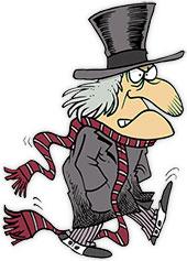 Ebenezer Scrooge Clipart.