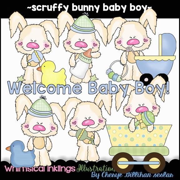 Scruffy BunnyBaby Girl [Cheryl Seslar Designs].