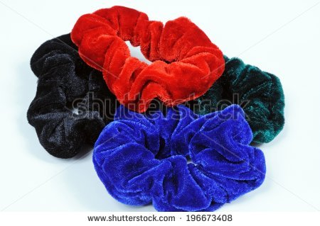 Scrunchies Stock Photos, Royalty.