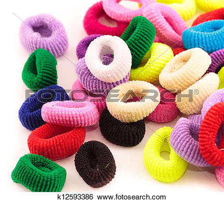 Stock Images of Scrunchies.