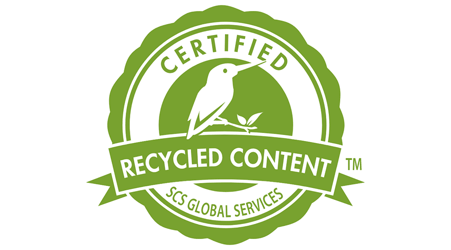 Recycled Content Certified by SCS Global Services Vector.
