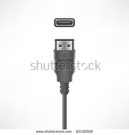 Scsi Cable Stock Vectors & Vector Clip Art.