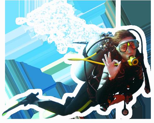 Diver PNG images free download.
