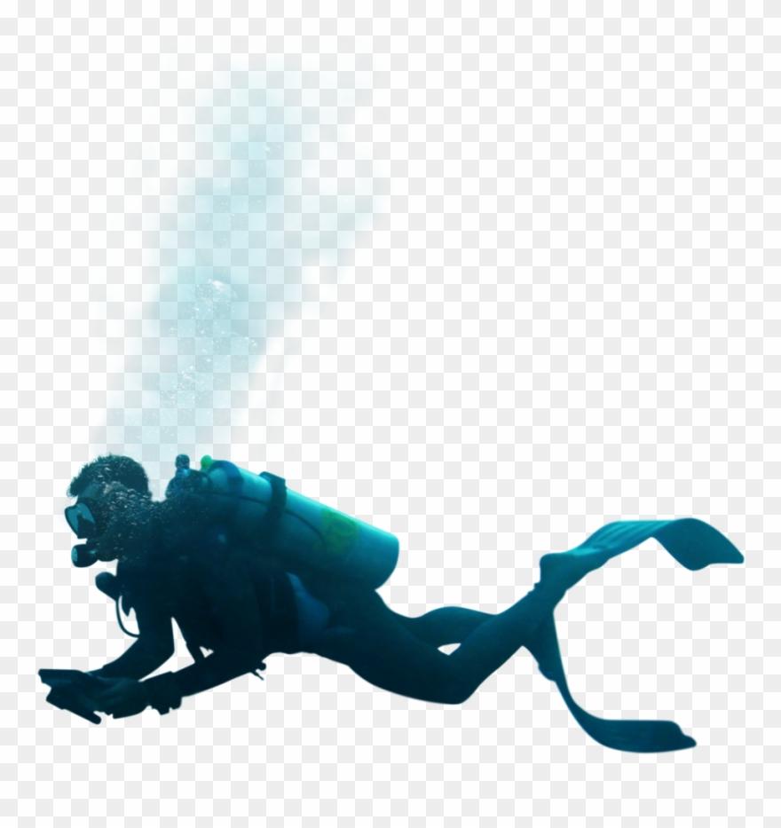 Scuba Diver Clipart Transparent.