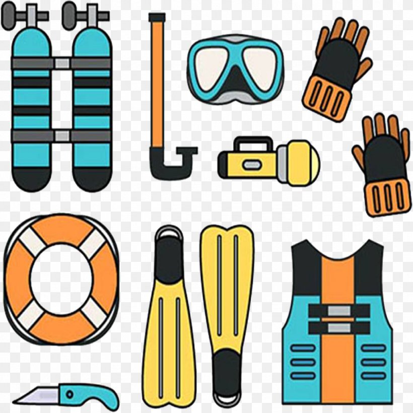 Underwater Diving Scuba Diving Diving Equipment Clip Art.