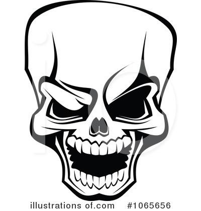 Skull Clipart #1065656.