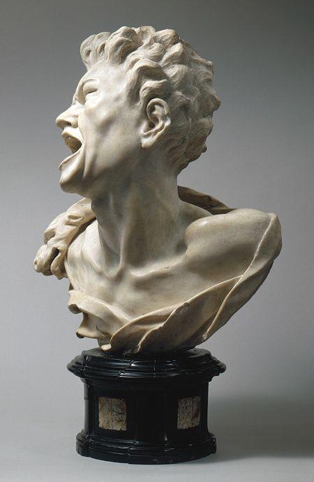 Balthasar Permoser: Bust of Marsyas (2002.468).