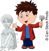 Sculptor Stock Illustrations. 338 Sculptor clip art images and.