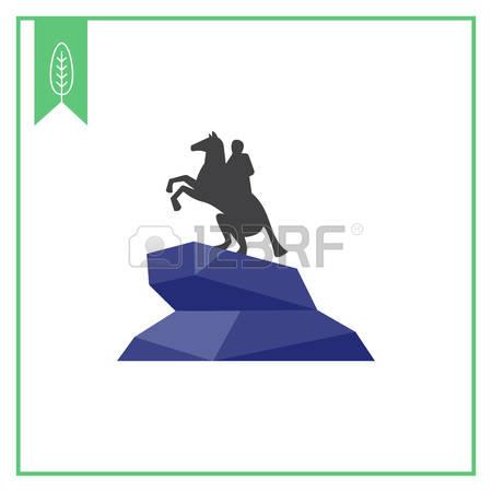 Bronze Statue Clipart.