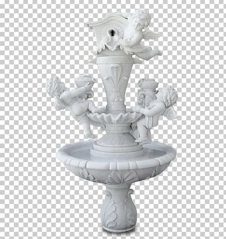 Fountain Garden Water Feature Marble Statue PNG, Clipart.