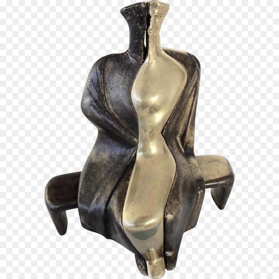 Bronze Sculpture Sculpture png download.