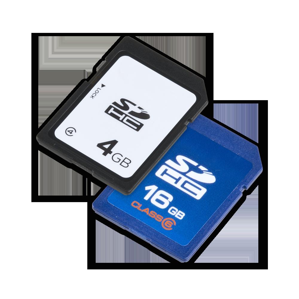SD Cards.