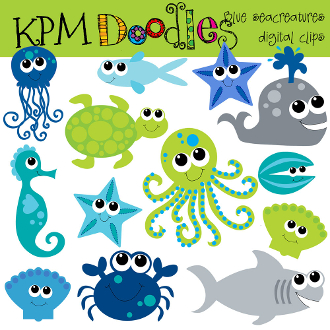 50%offsale Sea Animal Clipart,sea Animals, Sea Animals Free.