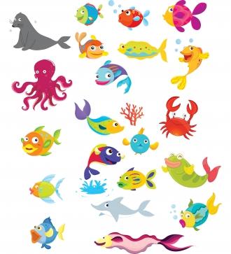 Ocean Animals Clip Art & Ocean Animals Clip Art Clip Art Images.