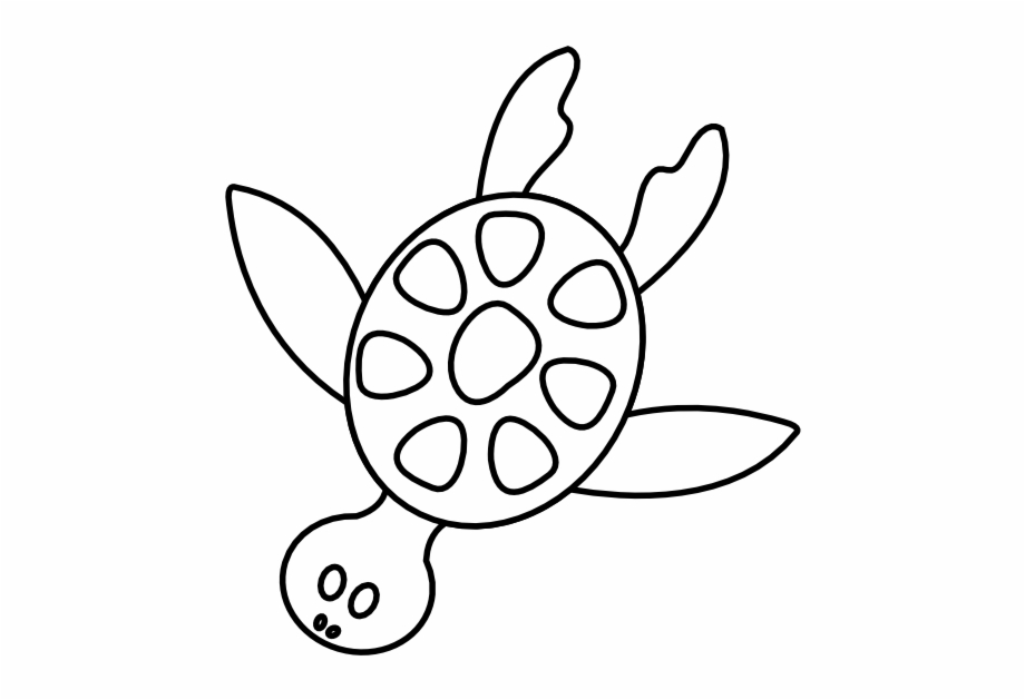 Turtle Clipart Black And White Turtle Clip Art Black.