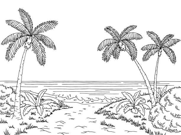 Sea clipart black and white 6 » Clipart Station.